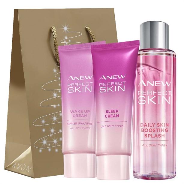 Set de 3 produse Anew Perfect Skin - Catalog Avon