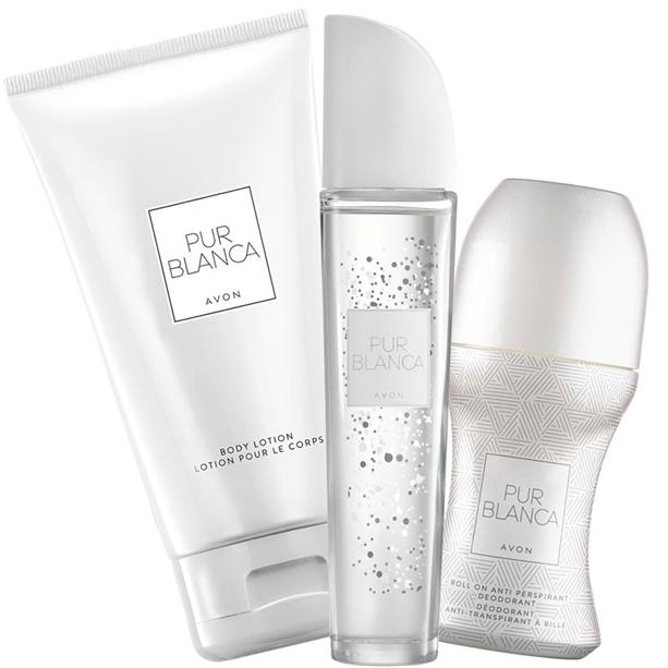 Set 3 produse Pur Blanca in editie limitata - Catalog Avon