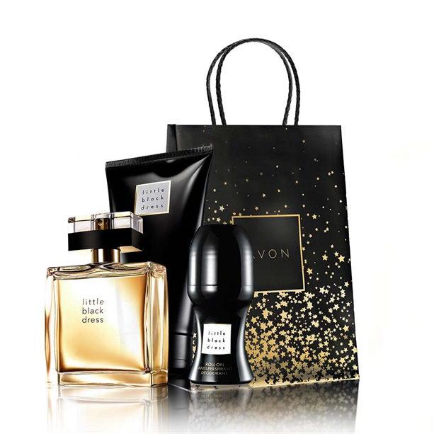Set Little Black Dress - Catalog Avon