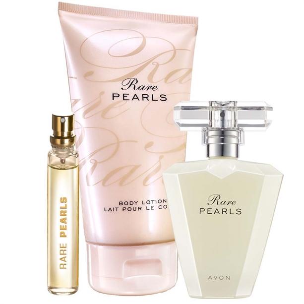 OS - Set Apa de parfum, Mini-apa de parfum si Lotiune de corp Rare Pearls - Catalog Avon