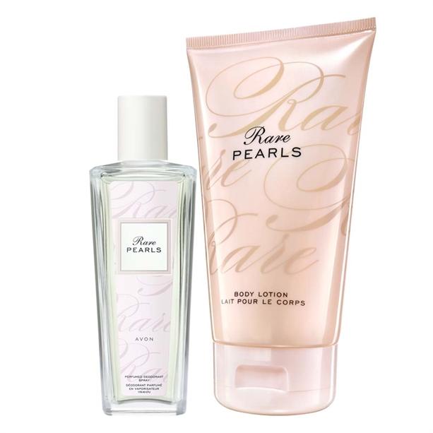 Set Spray parfumat si Lotiune de corp Rare Pearls - Catalog Avon