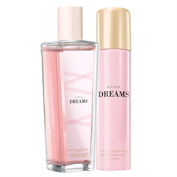 Set Spray parfumat si Deodorant Avon Dreams - Catalog Avon
