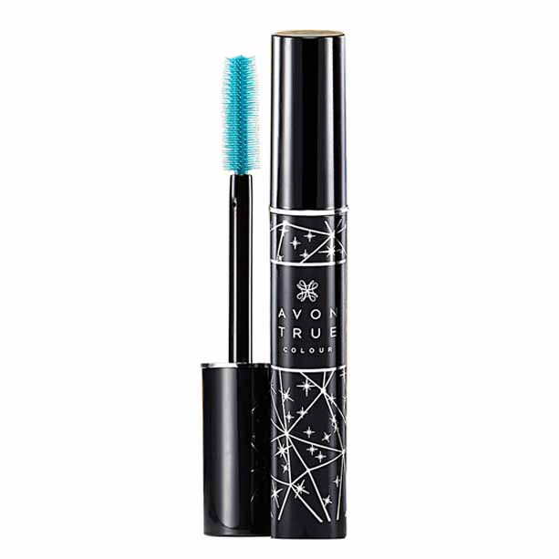 Mascara True Colour SuperShock in editie de sarbatoare - Black - Catalog Avon